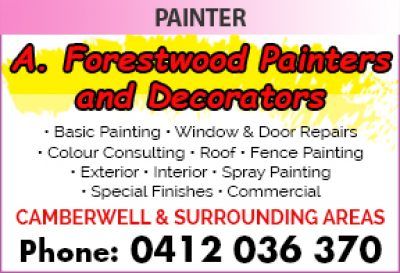 A. Forestwood Painters and Decorators
